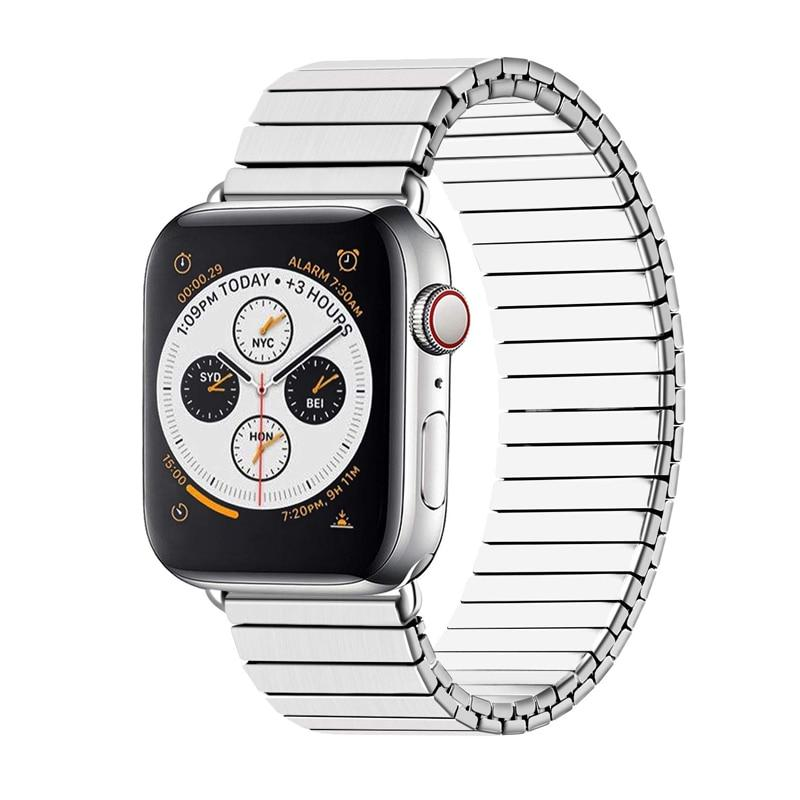Stainless Steel Watch Band For All Apple Watch Series (38mm / 40mm And 42mm / 44mm)- Multiple Colors