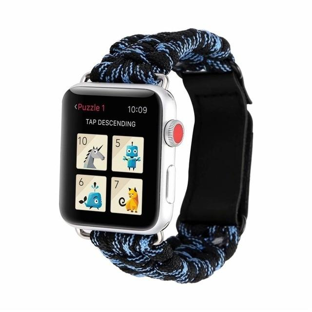 Survival Rope Apple Watch Band For All Apple Watch Series (38mm / 40mm And 42mm / 44mm)