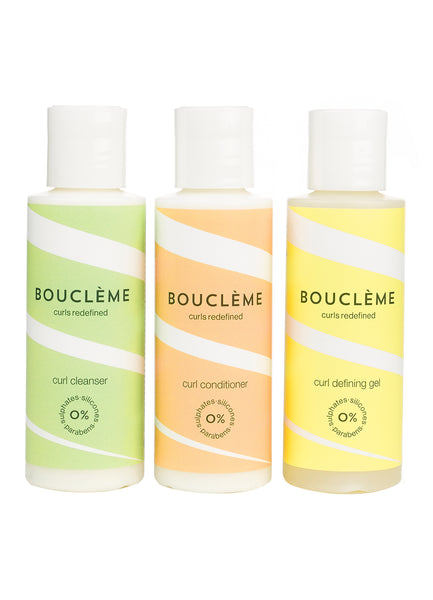 Bouclème Travel Set 3 x 100 ml bottles