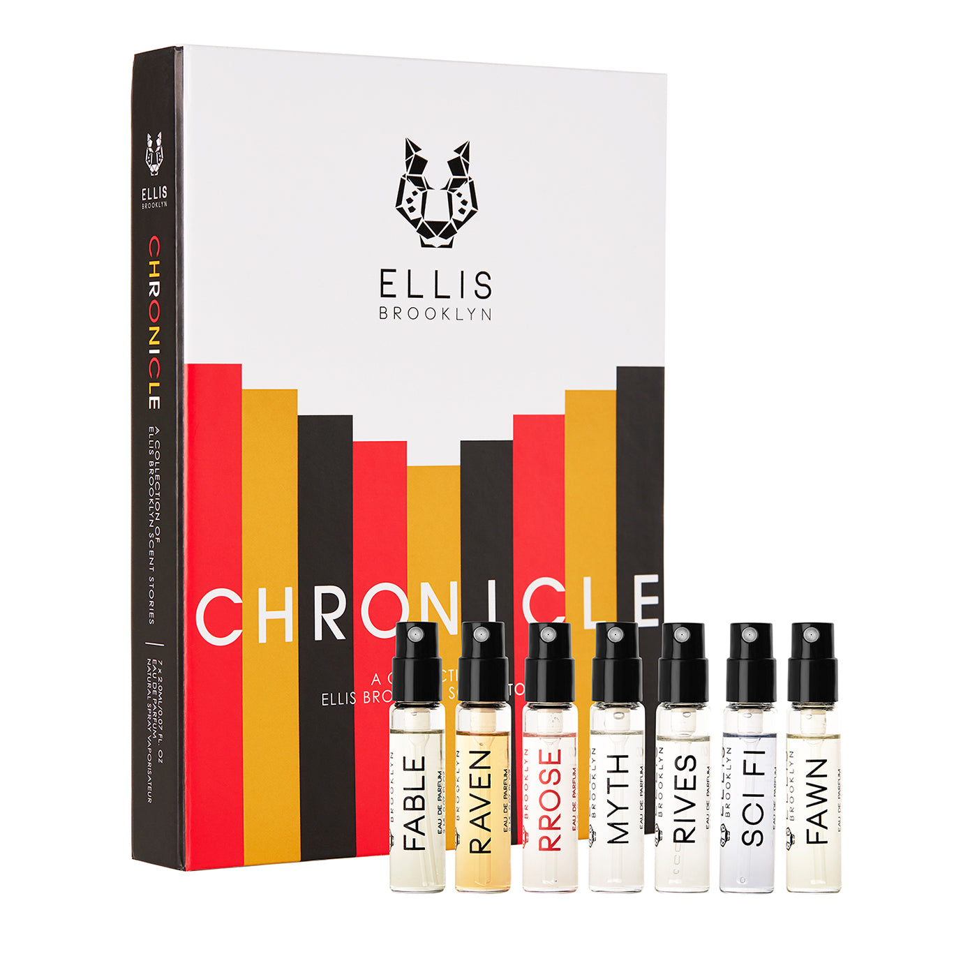 Ellis Brooklyn Chronicle Fragrance Discovery Set
