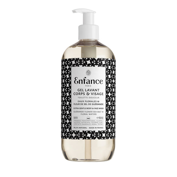 Enfance Paris Extra Gentle Body & Face Wash 16.9oz