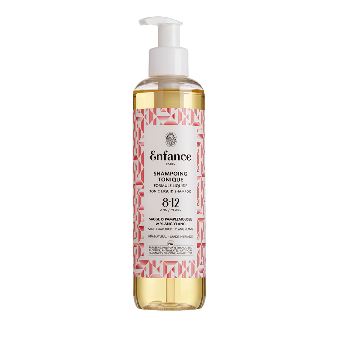 Enfance Paris Tonic Liquid Shampoo 8-12 Years 8.5oz 20475888435311