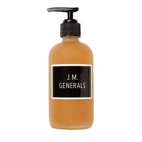 J.M. Generals x Ayla Goat's Milk Liquid Soap & Shower Gel