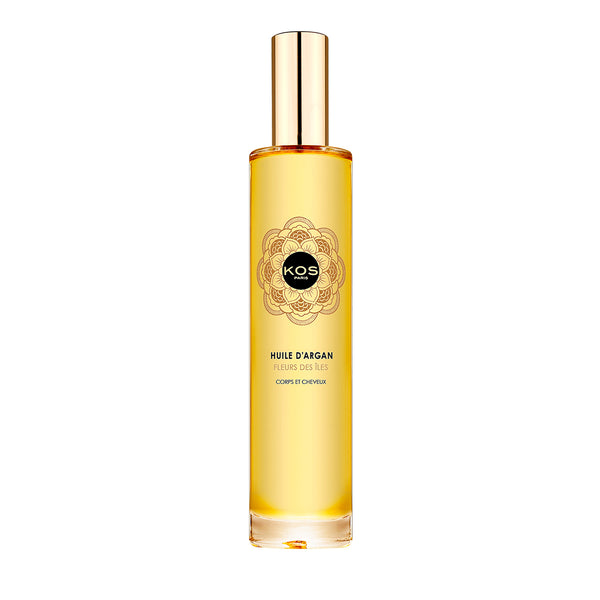 KOS Paris Island Flower Argan Oil for Body & Hair 3.4oz