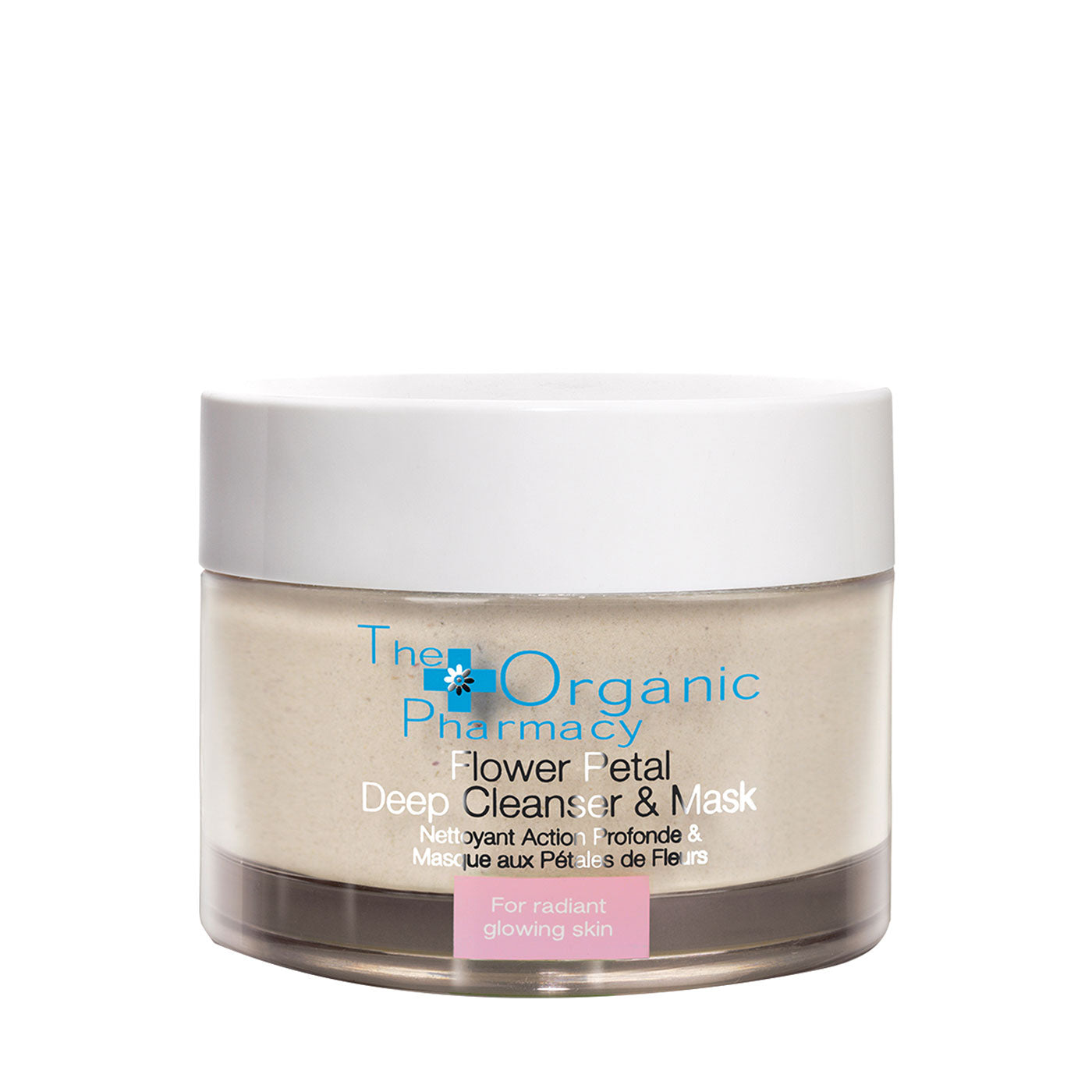 The Organic Pharmacy Flower Petal Deep Cleanser & Mask