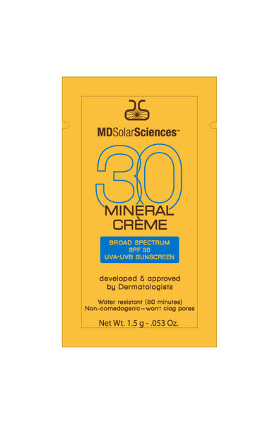 MDSolarSciences SPF 30 Mineral Creme Sample