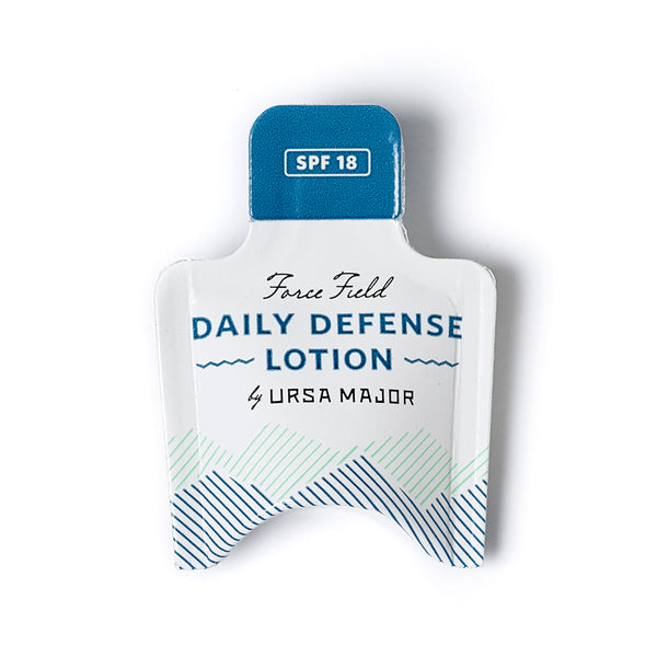 Ursa Major Force Field Daily Defense Lotion SPF 18 Sample
