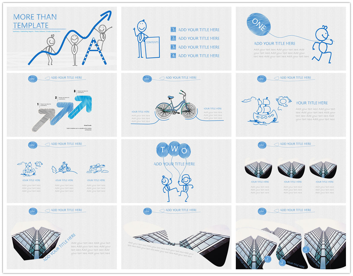 {PowerPointEasy}-{Templates}-{The best 10 hand drawing PowerPoint template}-{bundles}-slide7