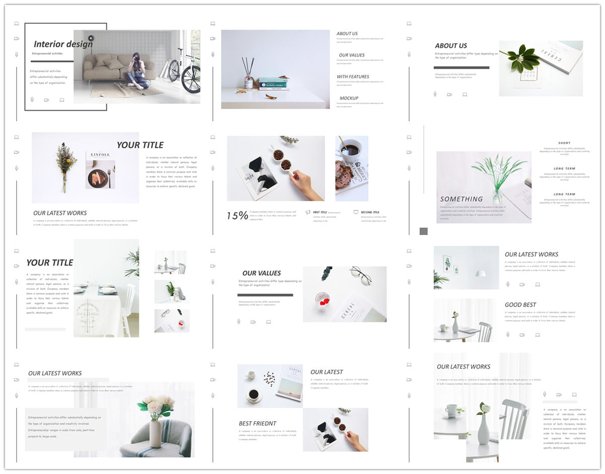 {PowerPointEasy}-{Templates}-{The Best 7 Interior Design Powerpoint Templates}-{bundles}-slide11