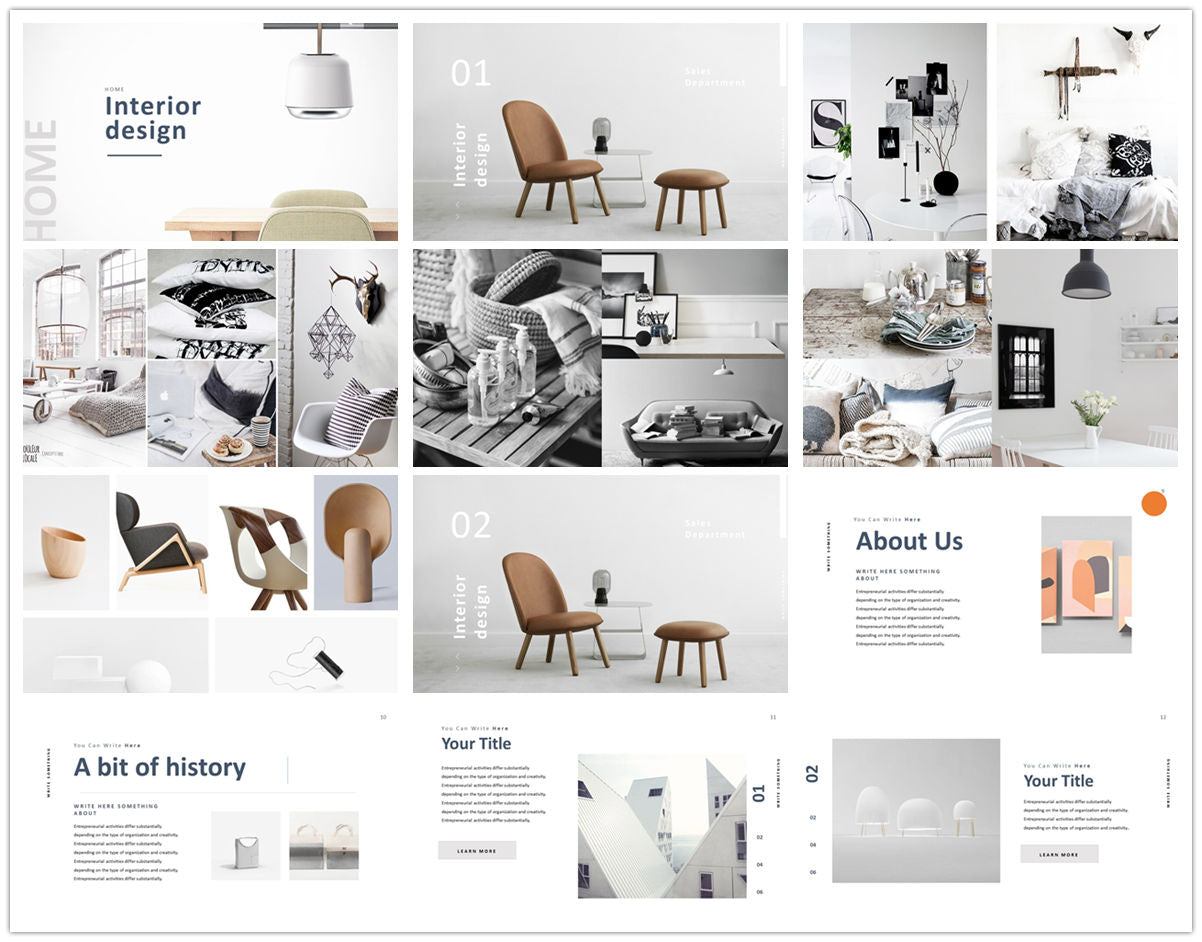 {PowerPointEasy}-{Templates}-{The Best 7 Interior Design Powerpoint Templates}-{bundles}-slide9