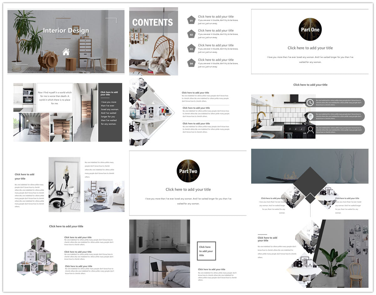 {PowerPointEasy}-{Templates}-{The Best 7 Interior Design Powerpoint Templates}-{bundles}-slide13
