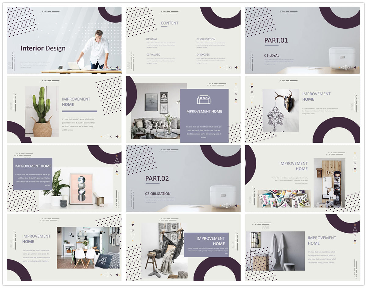 {PowerPointEasy}-{Templates}-{The Best 7 Interior Design Powerpoint Templates}-{bundles}-slide5