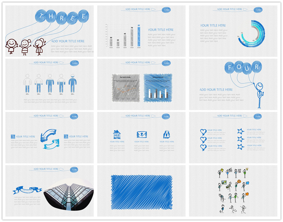 {PowerPointEasy}-{Templates}-{The best 10 hand drawing PowerPoint template}-{bundles}-slide8