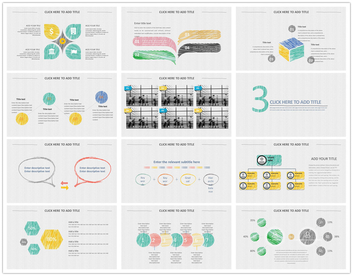 {PowerPointEasy}-{Templates}-{The best 10 hand drawing PowerPoint template}-{bundles}-slide6