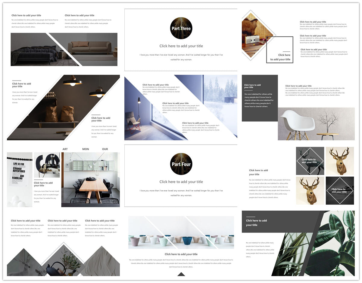 {PowerPointEasy}-{Templates}-{The Best 7 Interior Design Powerpoint Templates}-{bundles}-slide14