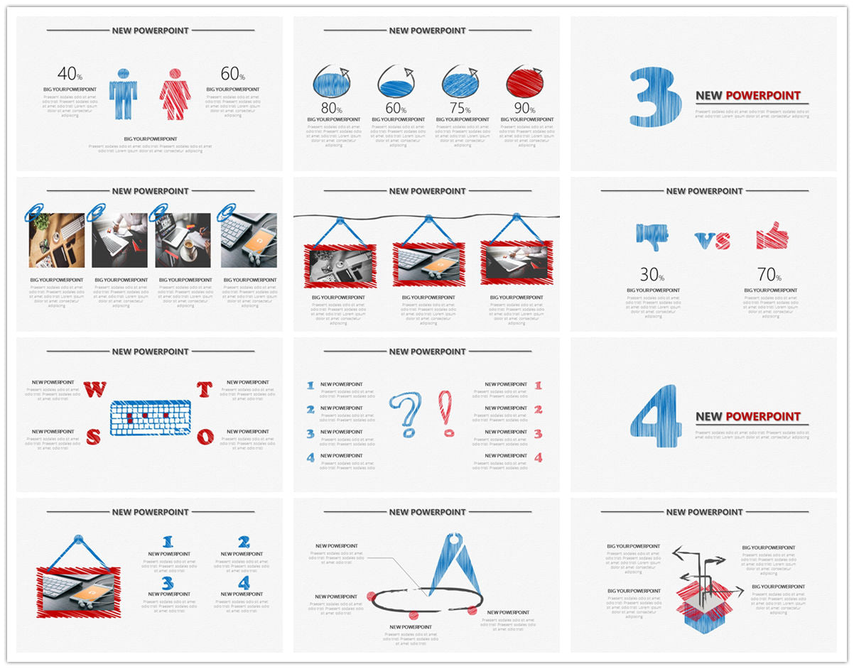 {PowerPointEasy}-{Templates}-{The best 10 hand drawing PowerPoint template}-{bundles}-slide10