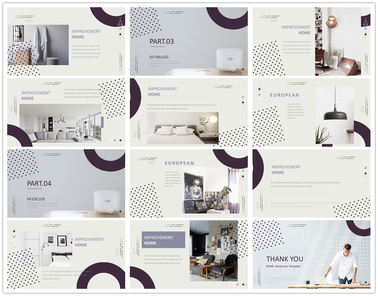{PowerPointEasy}-{Templates}-{The Best 7 Interior Design Powerpoint Templates}-{bundles}-slide6