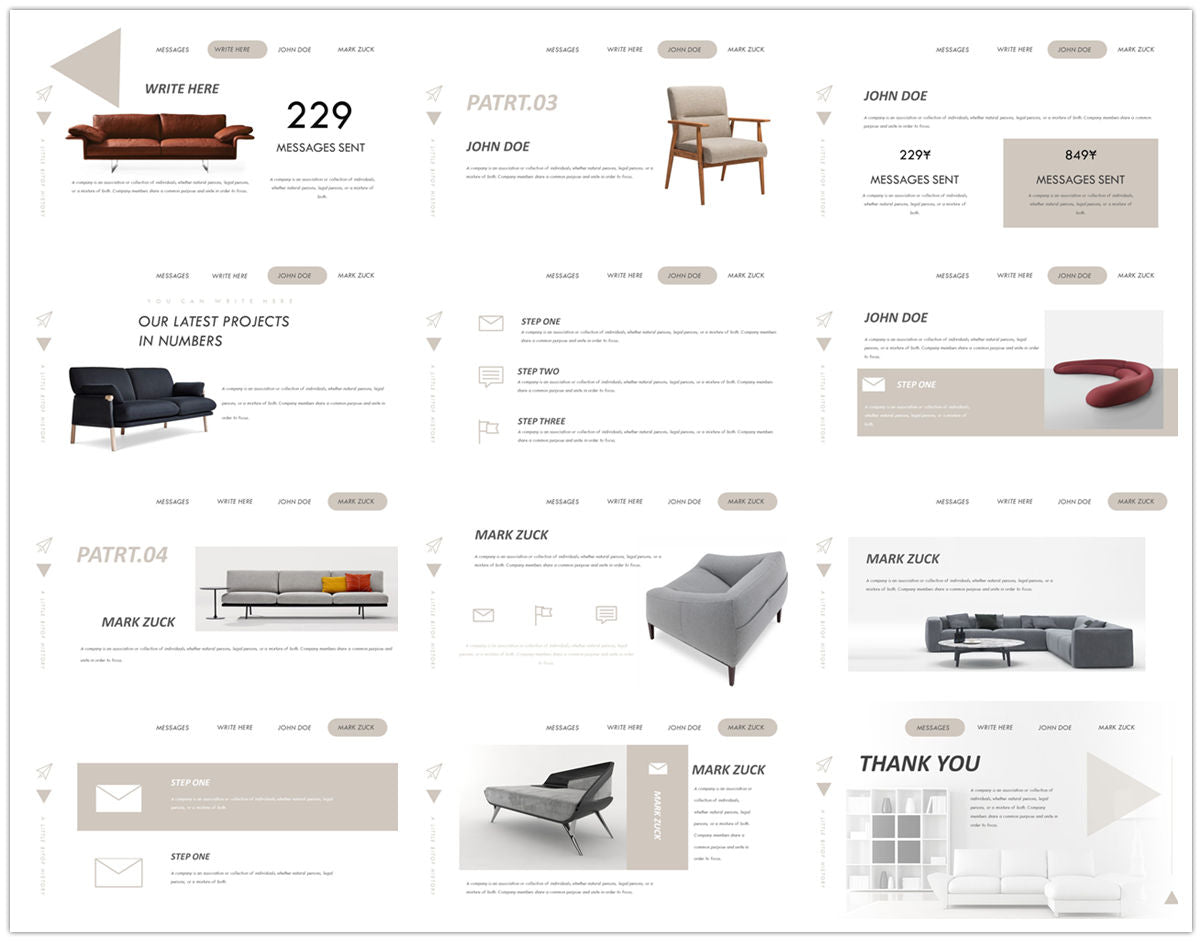 {PowerPointEasy}-{Templates}-{The Best 7 Interior Design Powerpoint Templates}-{bundles}-slide4