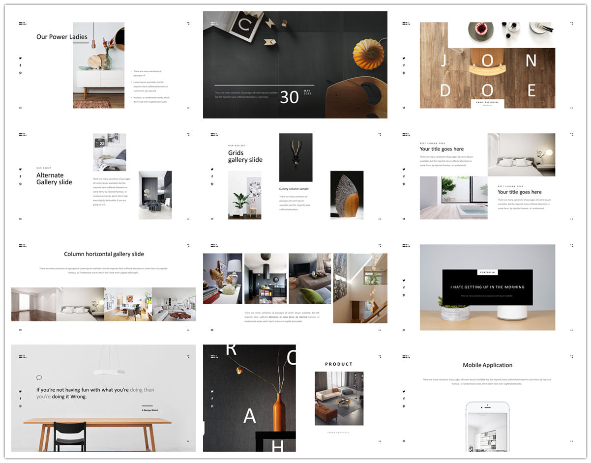 {PowerPointEasy}-{Templates}-{The Best 7 Interior Design Powerpoint Templates}-{bundles}-slide2