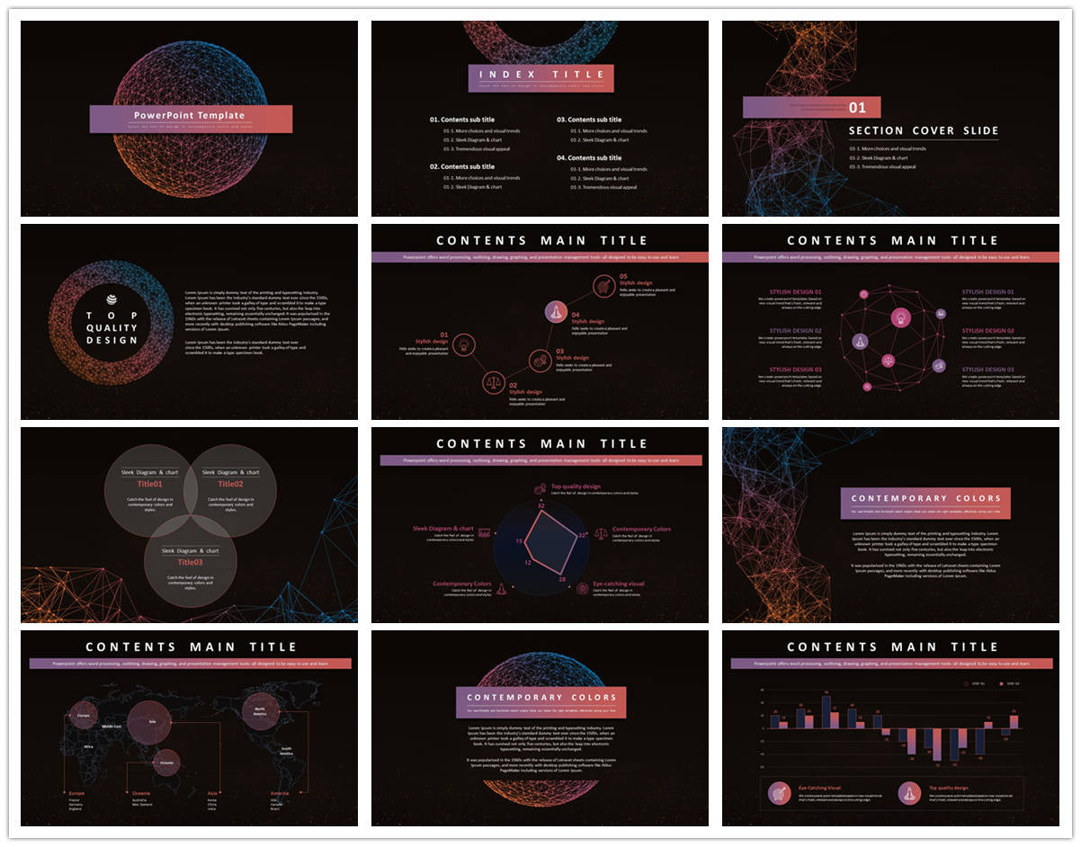 {PowerPointEasy}-{Templates}-{Top 10 Popular Science Fiction Powerpoint Templates of 2019}-{bundles}-slide2