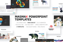 Load image into Gallery viewer, MASMAX POWERPOINT TEMPLATE