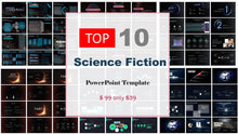 Load image into Gallery viewer, Top 10 Science Fiction Powerpoint Templates of 2019 - PowerPointEasy