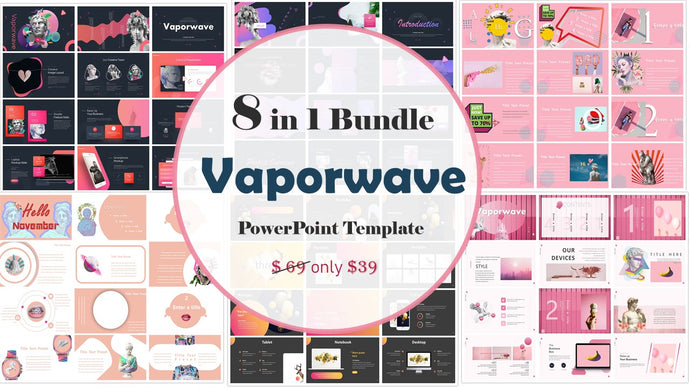 The Best 8 Vaporwave Powerpoint Template - PowerPointEasy
