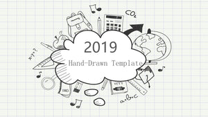 The best 10 hand drawing PowerPoint template - PowerPointEasy