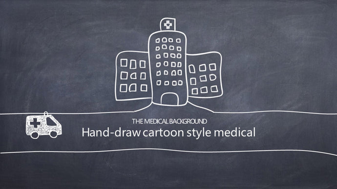 Hand-drawn medical PowerPoint Template