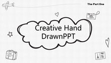 Load image into Gallery viewer, The best 10 hand drawing PowerPoint template - PowerPointEasy