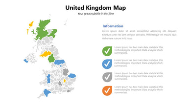 UK (United Kingdom) vector Map - PowerPointEasy