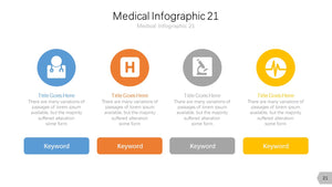 Medical Infographic Diagram PowerPoint template