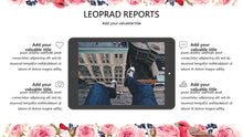 Load image into Gallery viewer, Flower and Bird PowerPoint Template