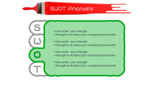 SWOT Analysis PowerPoint - PowerPointEasy