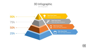 3D Infographic Diagram PowerPoint template
