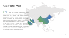 Load image into Gallery viewer, ASIA vector map Powerpoint - PowerPointEasy