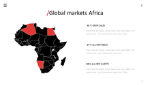 Load image into Gallery viewer, Africa vector map Powerpoint Keynote and Google Slides - PowerPointEasy