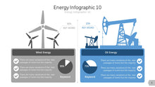 Load image into Gallery viewer, Energy Infographic Diagram PowerPoint template