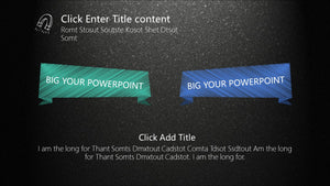 Idea Blackboard PowerPoint template