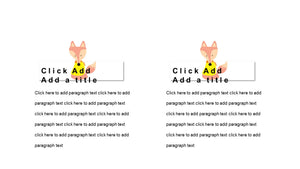 Hand-draw cartoon Small Animal PowerPoint template