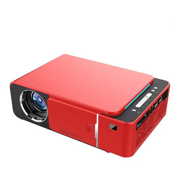 Portable LED Projector HDMI Support 4K 1080p Android 9.0 WIFI Optional