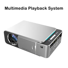 Load image into Gallery viewer, Portable LED Projector HDMI Support 4K 1080p Android 9.0 WIFI Optional