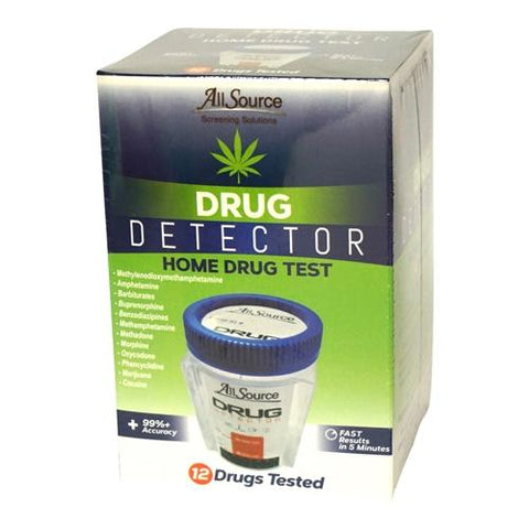 Drug Detectors - 12 Panel Drug Detector Urine Drug Test W/ FREE Lab Confirmation