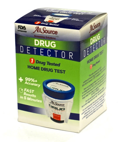 Drug Detectors - Marijuana Drug Detector Urine Drug Test W/ FREE Lab Confirmation