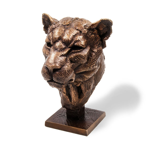 Ithusi Art Collection Bronze Leopard