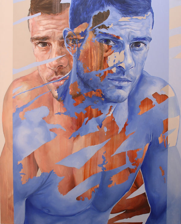 Corné Eksteen Painting 'Transposition IX' 123 x 100 cm C