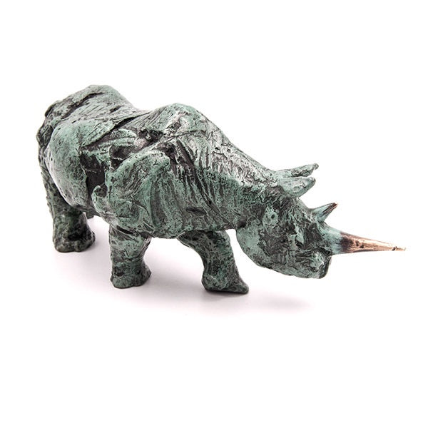 Ithusi Art Collection Bronze Rhino