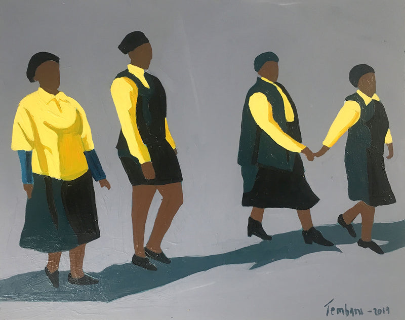 Shakes Tembani 'Women walking' C