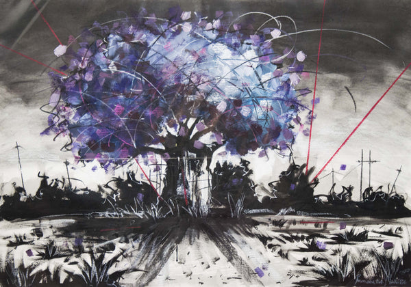 Ramarutha Makoba Painting 'My Purple World' C