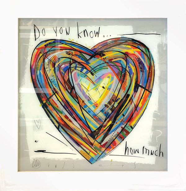 David Kuijers 'Do you know' 60 x 60 cm C
